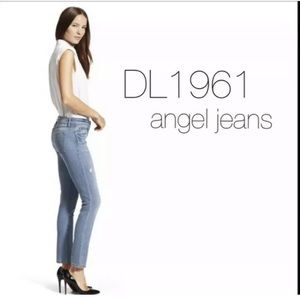dl1961 jeans 26 Angel KENNA Mid Rise Skinny Ankle